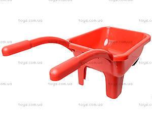 Детская тачка с лодочкой и песочным набором, 01-127, купить