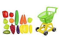 Детская тачка с овощами, 693в.3