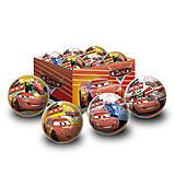 Детский резиновый мяч «Тачки», 14 см, 1129
