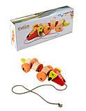 Такса - каталка игрушка, 13623
