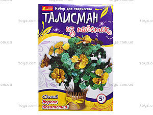 Талисман из пайеток «Дерево богатства», 4741, игрушки