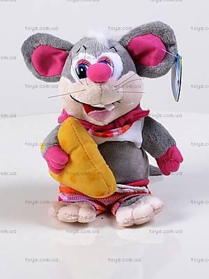 Танцующая игрушка «Мышь», с сыром, 3025-3ВТ