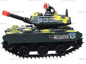 Игрушечный танк «Отважный», 00768, цена
