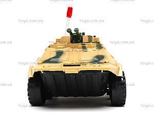 Игрушечный танк, инерционный, 560-31, детские игрушки