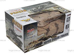Детский танк с эффектами, 58626365, детские игрушки