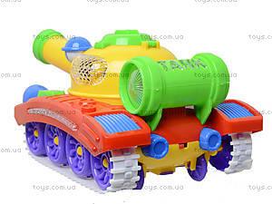 Игрушечный танк с музыкой и световыми эффектами, 908A, отзывы