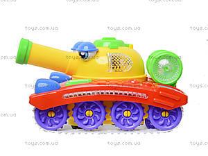 Игрушечный танк с музыкой и световыми эффектами, 908A, цена