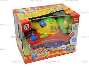 Игрушечный танк с музыкой и световыми эффектами, 908A, игрушки