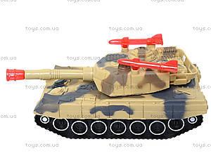 Детский танк с подсветкой и звуковыми эффектами, 2016C, цена