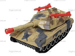 Детский танк с подсветкой и звуковыми эффектами, 2016C, магазин игрушек
