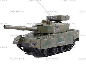 Танк для танковых боев на радиоуправлении, 3828A-1, детский