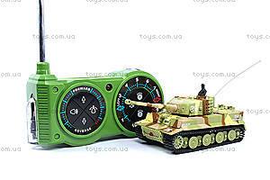 Танк микро радиоуправляемый 1:72 Tiger, GWT2117-3, фото