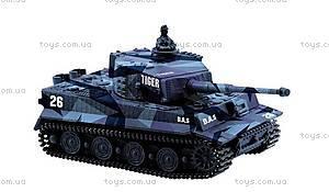 Танк микро радиоуправляемый 1:72 Tiger, GWT2117-3, магазин игрушек