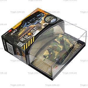 Танк микро р/у Tiger со звуком, GWT2117-2, детские игрушки
