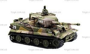 Танк микро р/у Tiger со звуком, GWT2117-2, магазин игрушек