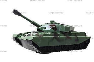 Музыкальный танк со световыми эффектами, DD1-1120C, детские игрушки