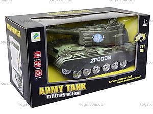 Детский музыкальный танк со световыми эффектами, ZF0088, фото