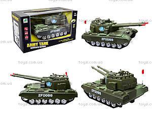 Детский музыкальный танк со световыми эффектами, ZF0088