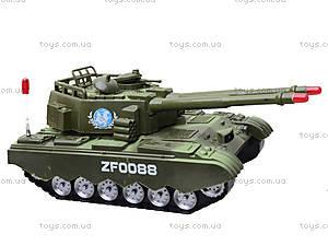 Детский музыкальный танк со световыми эффектами, ZF0088, игрушки