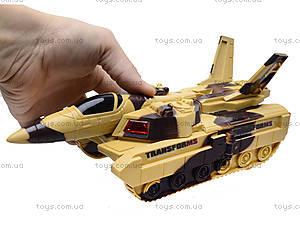 Музыкальный танк-трансформер, LD-668A, игрушки
