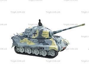 Танк микро на радиоуправлении 1:72 King Tiger, со звуком, GWT2203-4, купить