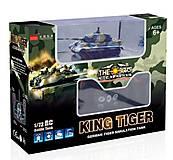 Танк микро на радиоуправлении 1:72 King Tiger, со звуком, GWT2203-4, фото