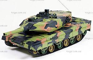 Танк на радиоуправлении Heng Long Leopard II A6, HL3889-1PRO
