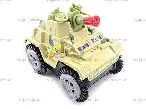 Музыкальный танк-перевертыш со светом, 337-20, фото