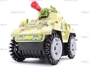 Музыкальный танк-перевертыш со светом, 337-20, отзывы