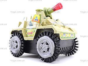 Музыкальный танк-перевертыш со светом, 337-20, детские игрушки