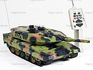 Танк радиоуправляемый Heng Long Leopard II A6, HL3889-1, фото