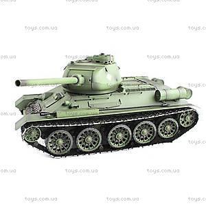 Танк радиоуправляемый Heng Long T-34, HL3909-1PRO, купить