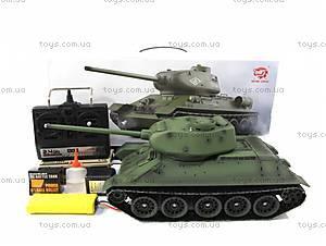 Танк радиоуправляемый Heng Long T-34, HL3909-1PRO, фото