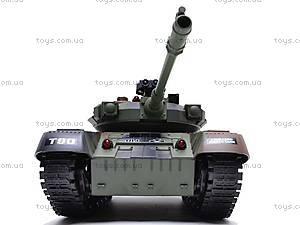 Танк радиоуправляемый, стреляет пульками, YH4101B-78, toys.com.ua