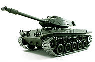 Танк р/у 1:16 Heng Long Bulldog M41A3 с пневмопушкой и и/к боем, HL3839-1-IR