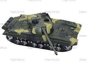 Детский танк инерционный с эффектами, 360-11, купить