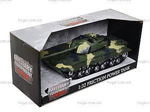 Детский танк инерционный с эффектами, 360-11, фото