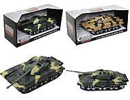 Детский танк инерционный с эффектами, 360-11
