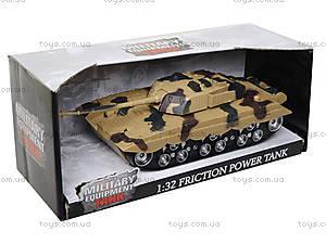 Детский танк инерционный с эффектами, 360-11, цена