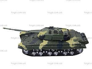 Детский танк инерционный с эффектами, 360-11, детские игрушки