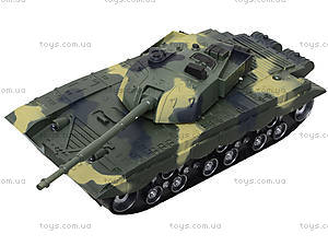 Детский танк инерционный с эффектами, 360-11, магазин игрушек