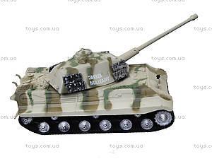 Ирушечный инерционный танк в пакете, 387-4B, купить