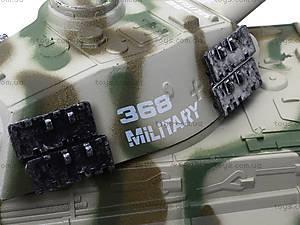 Ирушечный инерционный танк в пакете, 387-4B, фото