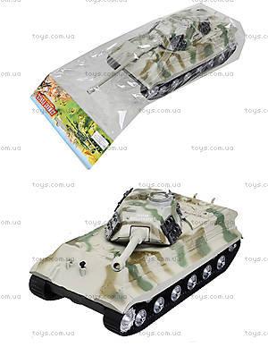 Ирушечный инерционный танк в пакете, 387-4B