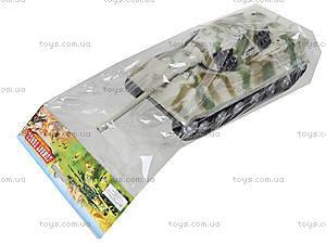 Ирушечный инерционный танк в пакете, 387-4B, отзывы
