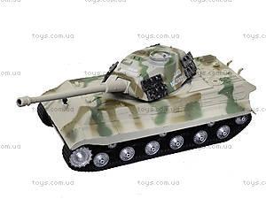 Ирушечный инерционный танк в пакете, 387-4B, цена