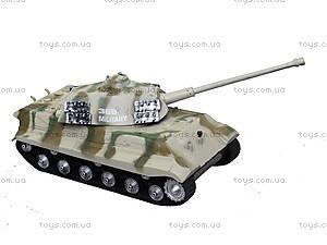 Ирушечный инерционный танк в пакете, 387-4B, игрушки