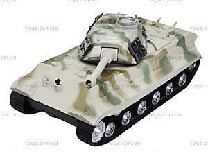 Ирушечный инерционный танк в пакете, 387-4B, детские игрушки