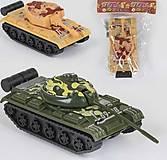 Танк инерционный в двух цветах, 399-358, детские игрушки