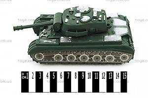 Танк инерционный игрушечный, 543-12F